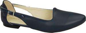 Sandały Jankobut ze skóry w stylu klasycznym z płaską podeszwą