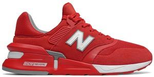 9eabb4ef Czerwone buty sportowe New Balance sznurowane