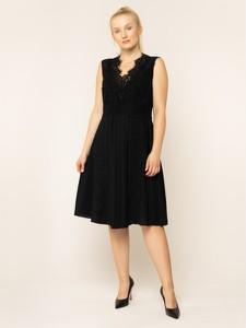 Czarna sukienka Persona by Marina Rinaldi midi