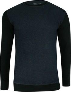Granatowy sweter Pako Jeans z bawełny