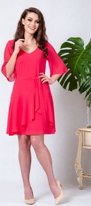 Czerwona sukienka Kokito maxi