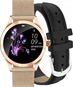 Zegarek GINO ROSSI SMARTWATCH BF1- złoty + czarny pasek