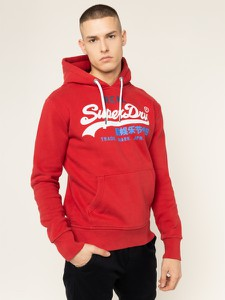Czerwona bluza Superdry