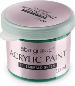 Farbka akrylowa Aba Group 14 - Emerald Green 10 ml