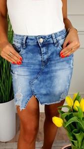Spódnica Hypnotize Butik w street stylu z jeansu