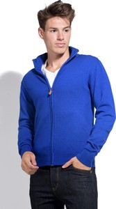Niebieski sweter William De Faye