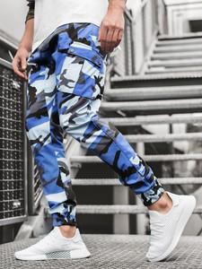 Spodnie ozonee.pl w militarnym stylu z bawełny