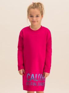 Różowa sukienka dziewczęca Calvin Klein