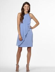 Niebieska sukienka Esprit bez rękawów