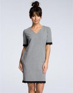 Sukienka Be z krótkim rękawem