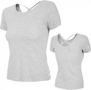 T-shirt Outhorn w sportowym stylu z krótkim rękawem z dzianiny