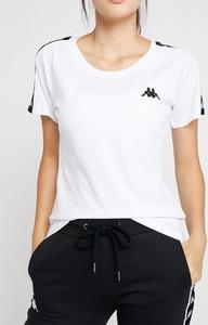 T-shirt Kappa z okrągłym dekoltem w stylu casual