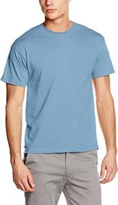 Błękitny t-shirt Fruit Of The Loom