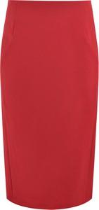 Czerwona spódnica Prettyone midi