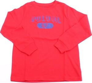 Czerwona koszulka dziecięca POLO RALPH LAUREN z bawełny dla chłopców