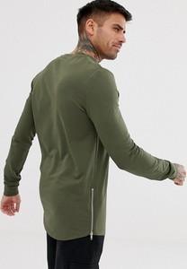 Zielona bluza Asos z dresówki
