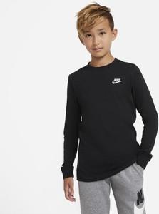 Czarna koszulka dziecięca Nike dla chłopców
