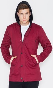 Czerwona kurtka VISENT w stylu casual