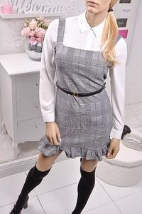 Sukienka Obsessionforyou w stylu casual na ramiączkach