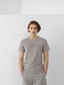 T-shirt 4F w sportowym stylu z nadrukiem