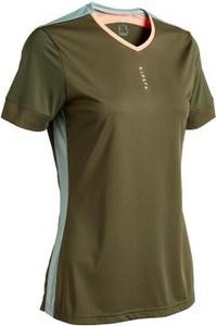 Zielony t-shirt Kipsta