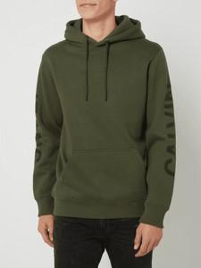 Zielona bluza Calvin Klein w młodzieżowym stylu z bawełny