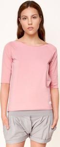 T-shirt Byinsomnia w stylu casual