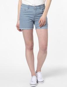 Niebieskie szorty Marie Lund z jeansu w stylu casual