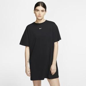 Sukienka Nike z okrągłym dekoltem prosta mini
