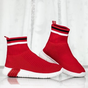 buty męskie z czerwoną podeszwą stylowo i modnie z Allani