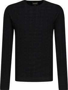 Sweter Emporio Armani w stylu casual