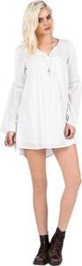 Sukienka Volcom z długim rękawem mini koszulowa