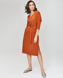 cd8fecaf0c sukienka w paski - stylowo i modnie z Allani