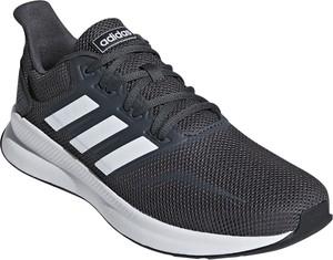 Buty sportowe Adidas w sportowym stylu z tkaniny sznurowane