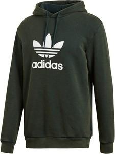 Zielona bluza Adidas z bawełny