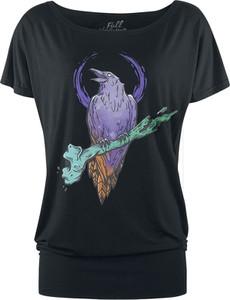 T-shirt Emp z nadrukiem z okrągłym dekoltem z krótkim rękawem