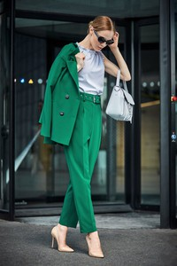 Spodnie Style z tkaniny