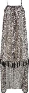 Sukienka bonprix bpc selection z dekoltem halter w stylu casual