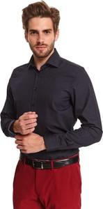 Koszula Top Secret z tkaniny z długim rękawem