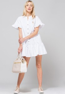Sukienka Monnari midi koszulowa z bawełny