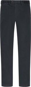 Czarne chinosy Cotton Slacks z bawełny