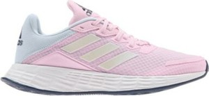 Różowe buty sportowe dziecięce Adidas dla dziewczynek sznurowane