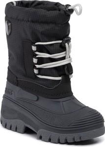 Granatowe buty dziecięce zimowe CMP sznurowane
