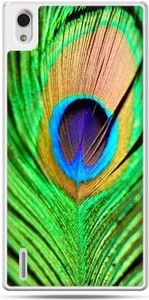Etuistudio Huawei P7 etui pawie oko