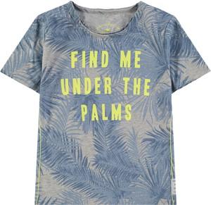 Koszulka dziecięca Tom Tailor dla chłopców z bawełny z krótkim rękawem
