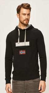 Czarna bluza Napapijri z bawełny
