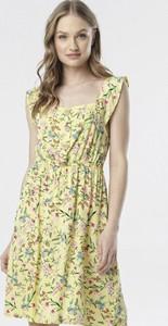 Sukienka born2be rozkloszowana w stylu casual