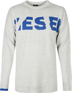 Sweter Diesel z okrągłym dekoltem