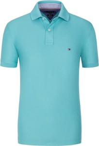 Koszulka polo Tommy Hilfiger z bawełny z krótkim rękawem w stylu casual
