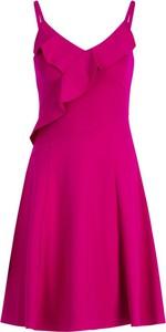 Sukienka DKNY na ramiączkach mini z dekoltem w kształcie litery v